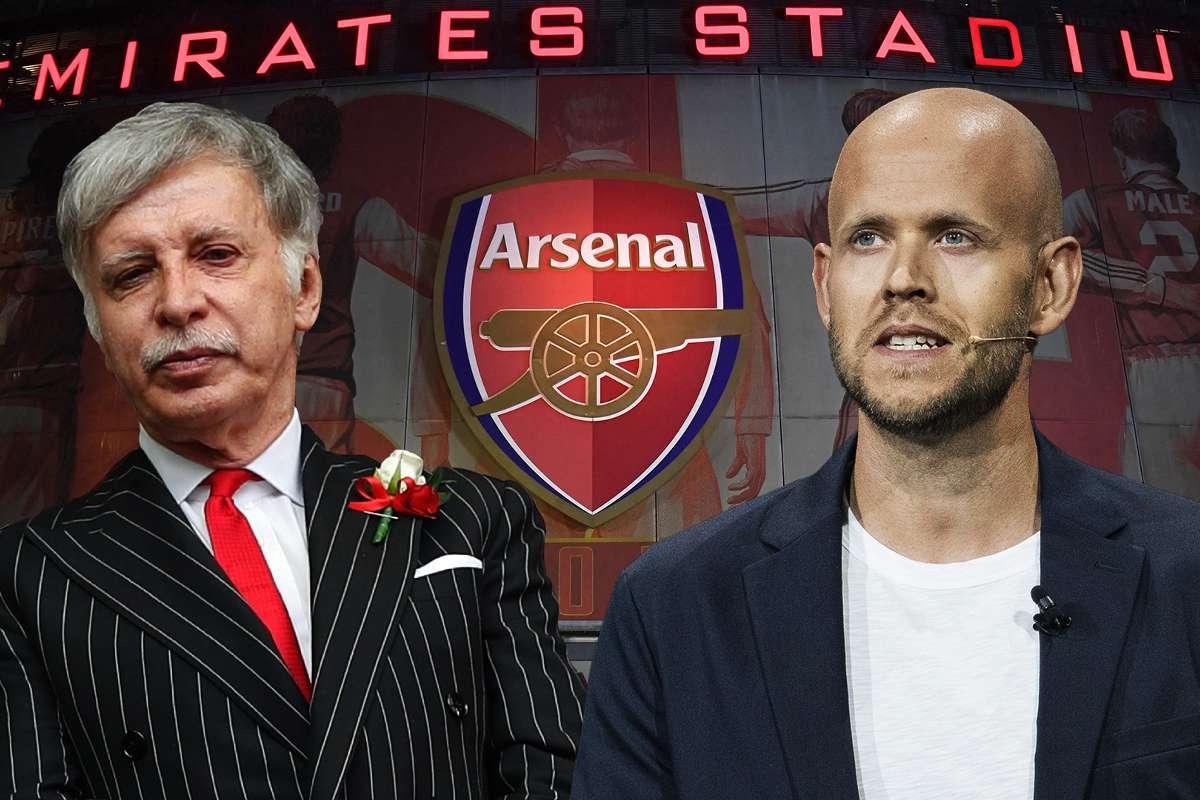 Arsenal: Giám đốc điều hành Spotify đưa lời đề nghị tiếp quản CLB