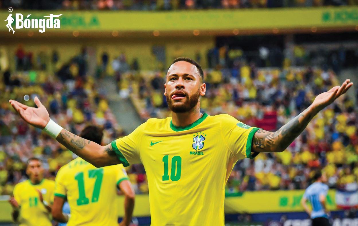 Brazil 4-1 Uruguay: Neymar chứng minh đẳng cấp