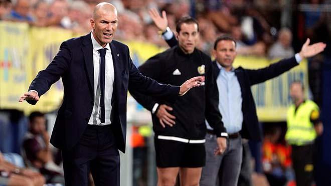 HLV Zidane quyết tâm dẫn dắt Real Madrid qua 'thời kỳ tồi tệ' nhưng không sẽ không ở lại lâu dài