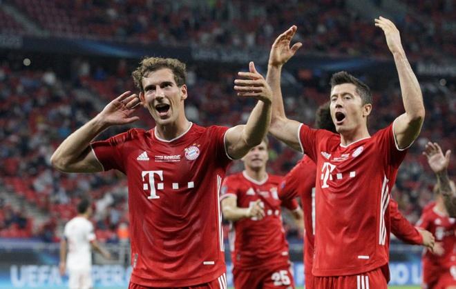 Bayern kết thúc trận đấu với tỷ số 2-1
