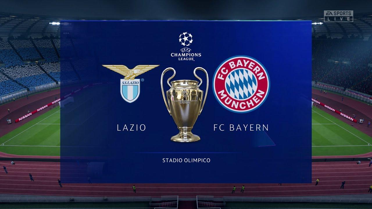 Cuộc đối đầu cam go giữa ĐKVĐ Bayern Munich và đội bóng giàu truyền thống của Ý Lazio (Ảnh: EA Sports)