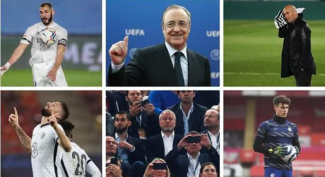 """Real Madrid vs Chelsea: Super League sụp đổ, Benzema đụng độ Giroud, Kepa """"báo thù"""""""