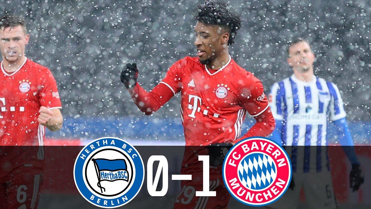 BUNDESLIGA: Nỗ lực của Coman đủ để Bayern Munich giành trọn điểm trước đội chủ nhà Hertha Berlin