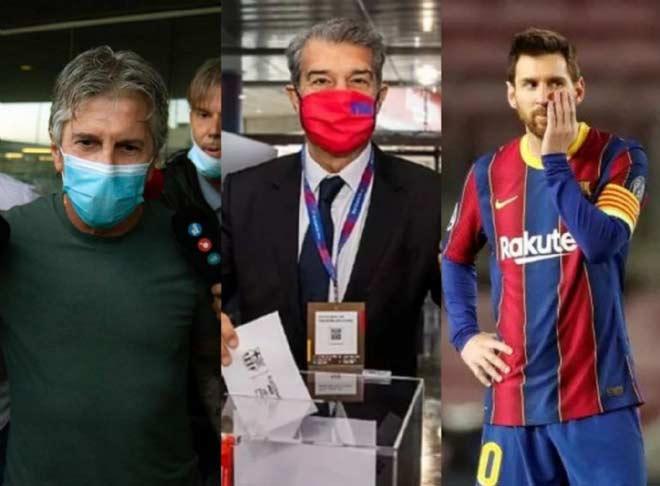 Những chi tiết trong cuộc gặp gỡ giữa Jorge Messi và Laporta