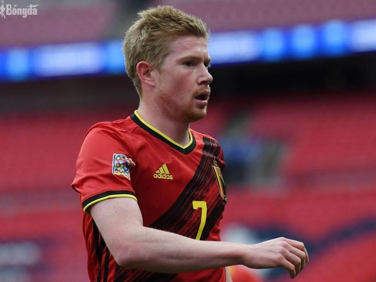Kevin de Bruyne hối hận vì ra sân ở VCK Euro 2020?
