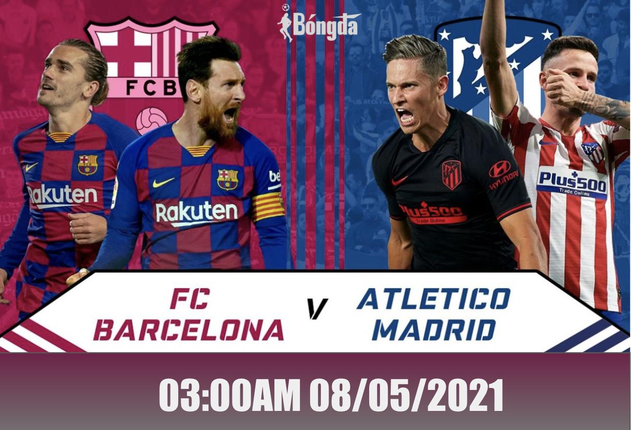 Nhận định trận đấu La Liga ngày 08/05: Barcelona quyết đấu Atlético Madrid trên sân nhà