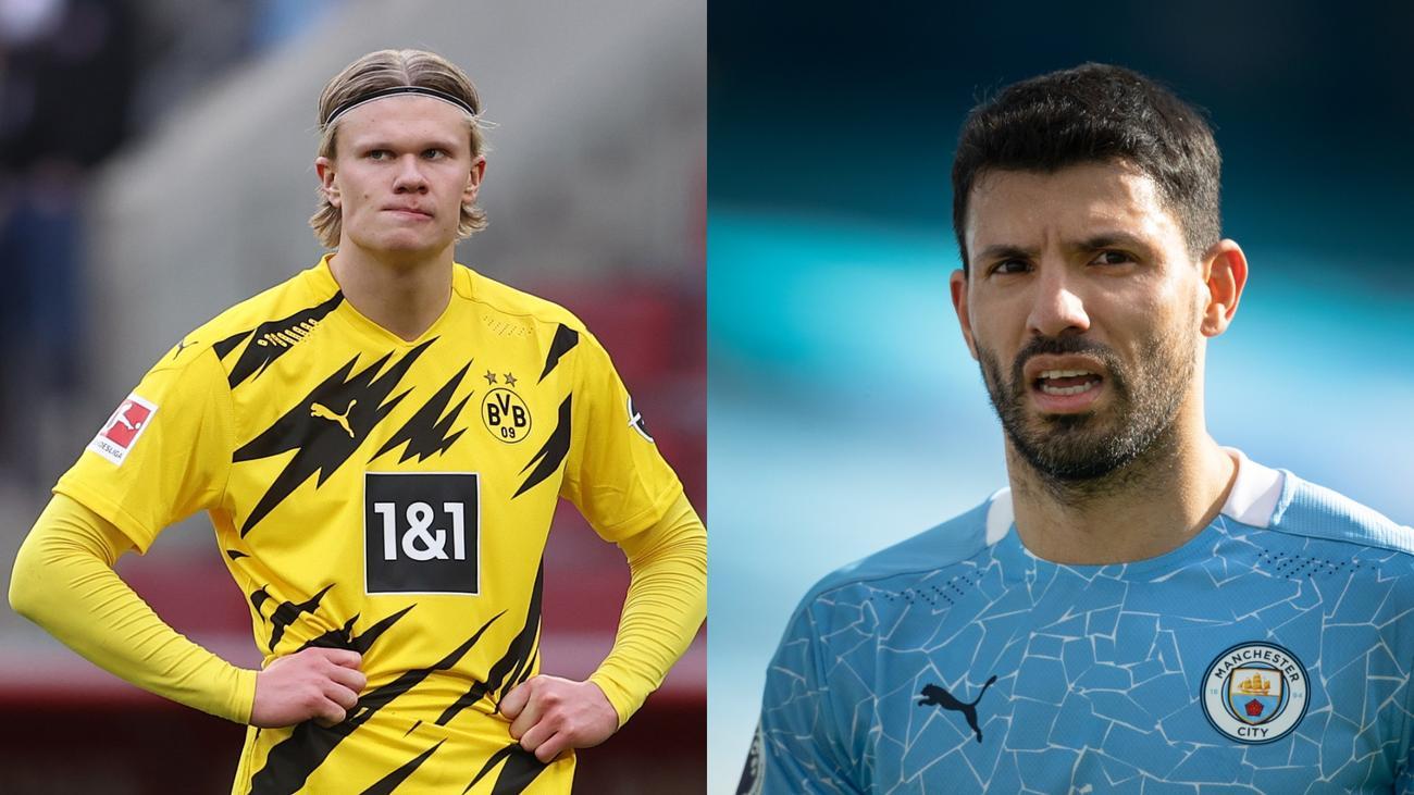 Cầu thủ trẻ của Dortmund đứng đầu danh sách thay thế Aguero của Man City