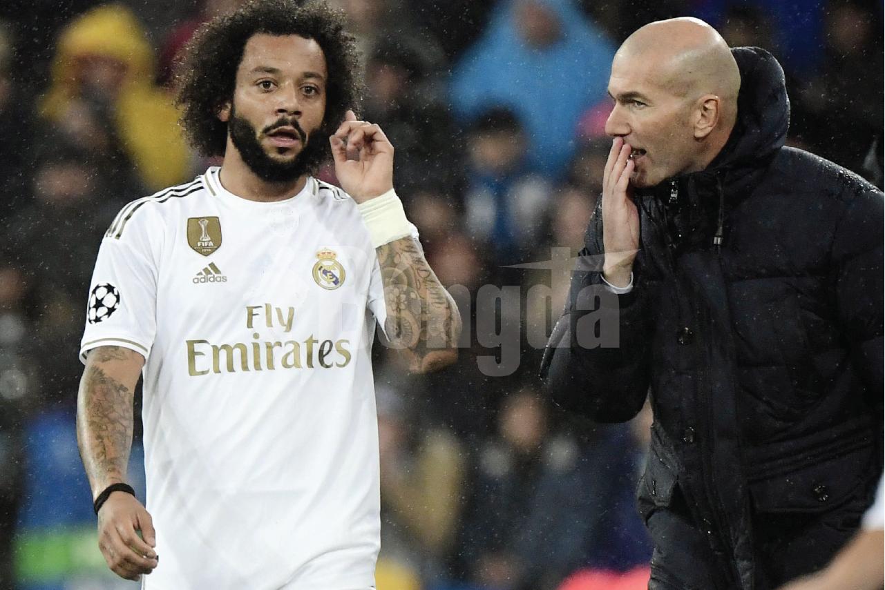 """Zinedine Zidane """"trảm"""" Marcelo khỏi đội hình sau tranh cãi trong phòng thay đồ"""