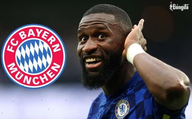 """Rộ tin Chelsea """"mất trắng"""" bom tấn Antonio Rudiger vào tay Bayern Munich"""