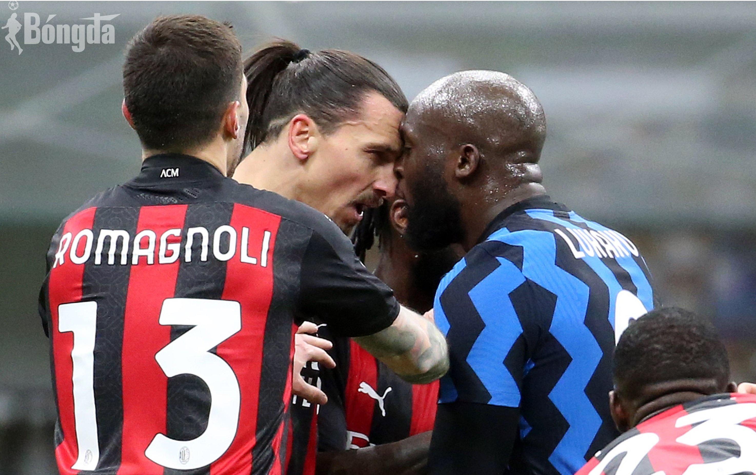 """Điểm nhấn Serie A 2020/21: Ibrahimovic ẩu đả """"dữ dội"""" với Lukaku"""