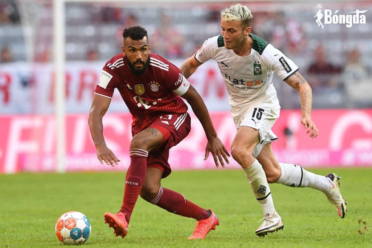 Bayern thua sốc Monchengladbach dưới sự dẫn dắt của tân HLV Nagelsmann