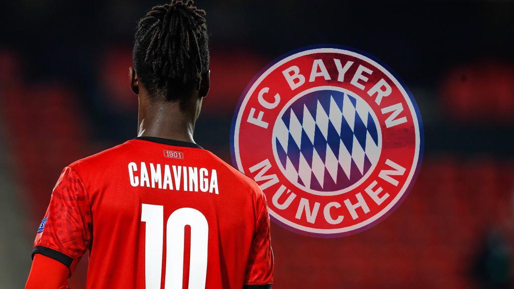 Bayern Munich thách thức Real Madrid vì ngôi sao Eduardo Camavinga của Rennes