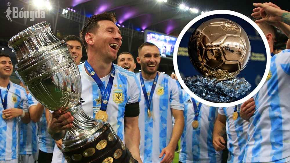 Quả bóng Vàng 2021: Chiesa - Benzema - Sterling quyết cản bước Messi giành QBV thứ 7