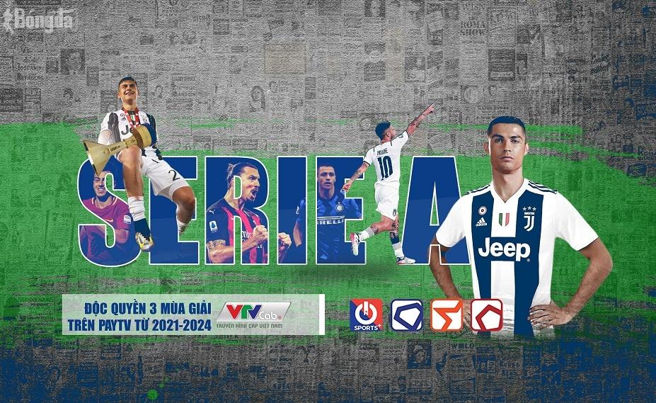 VTVcab trình làng Serie A, NHM thoả sức ngắm nhìn Ronaldo