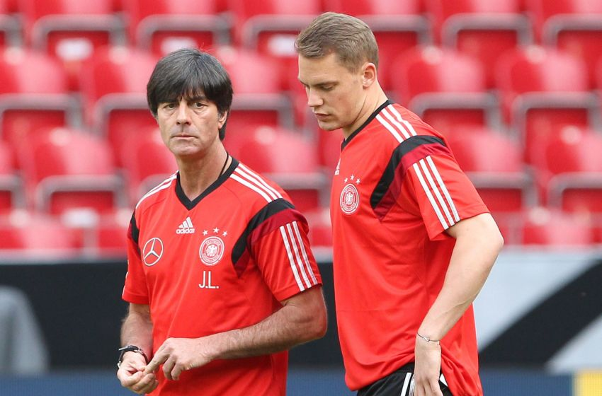"""Neuer trong cuộc họp báo DFB: """"Trước mắt chúng tôi là những trận chung kết"""""""
