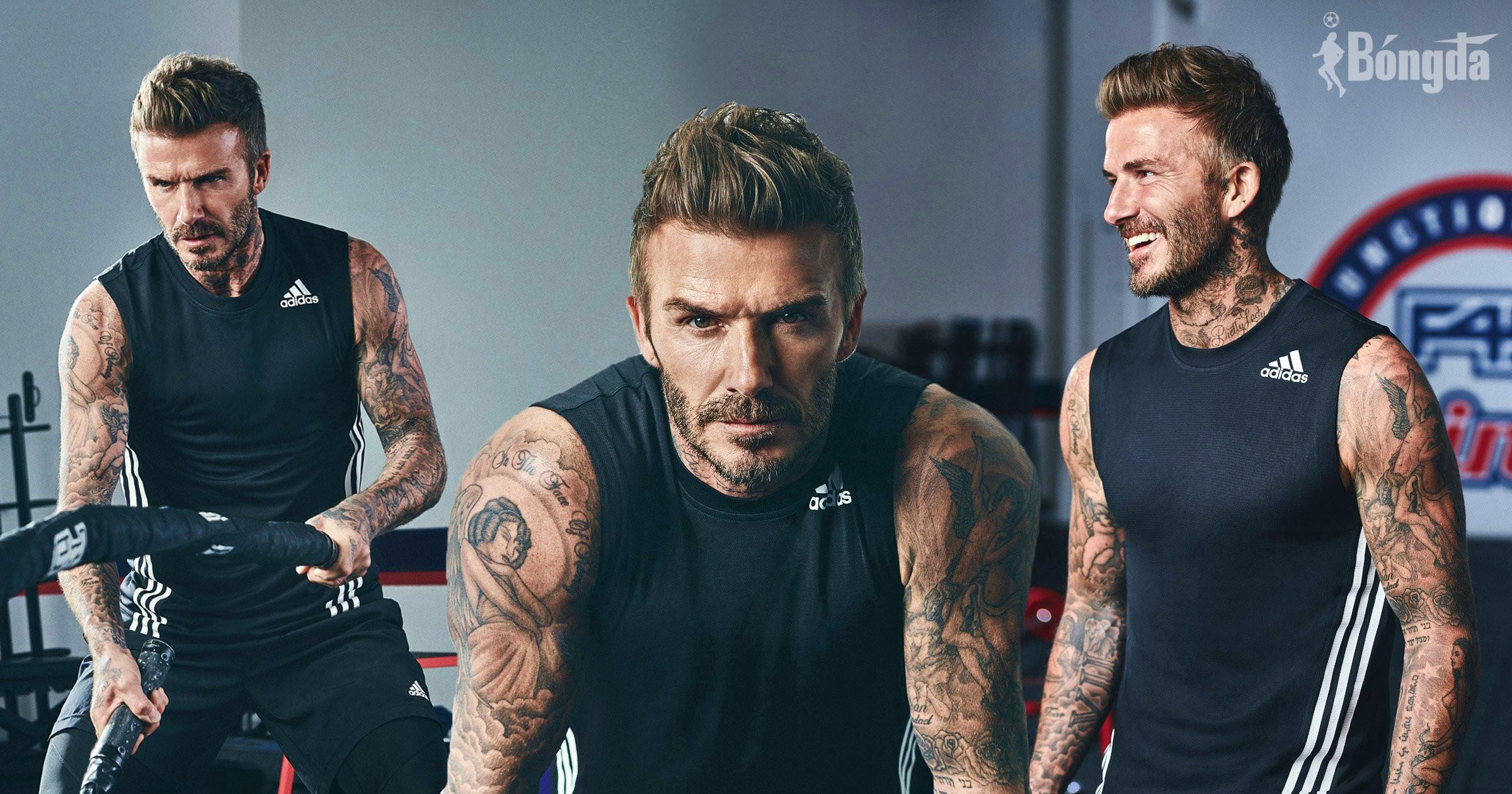 """Làm gương mặt đại diện cho F45, David Beckham khoe vóc dáng đáng """"ao ước"""" ở tuổi 46"""