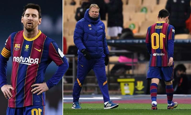 HLV Koeman kín tiếng về trọng tài và cho biết Barca cần xem lại chính mình