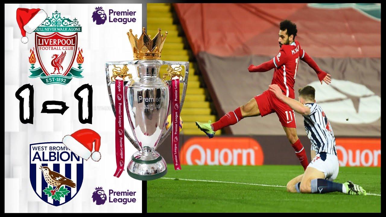 Bàn thắng muộn giúp West Brom có trận hòa 1-1 với Liverpool