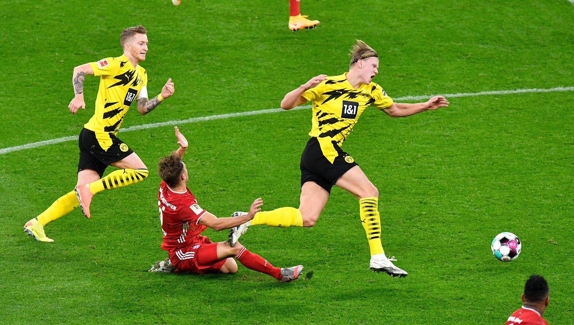 Báo cáo: Bayern Munich sẽ không theo đuổi Erling Haaland của Borussia Dortmund