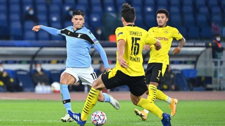 Dortmund nhận thất bại cay đắng trước Lazio tại Champions League