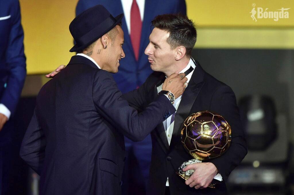 Quả bóng Vàng 2021: Neymar không tài nào đọ sức với Messi?