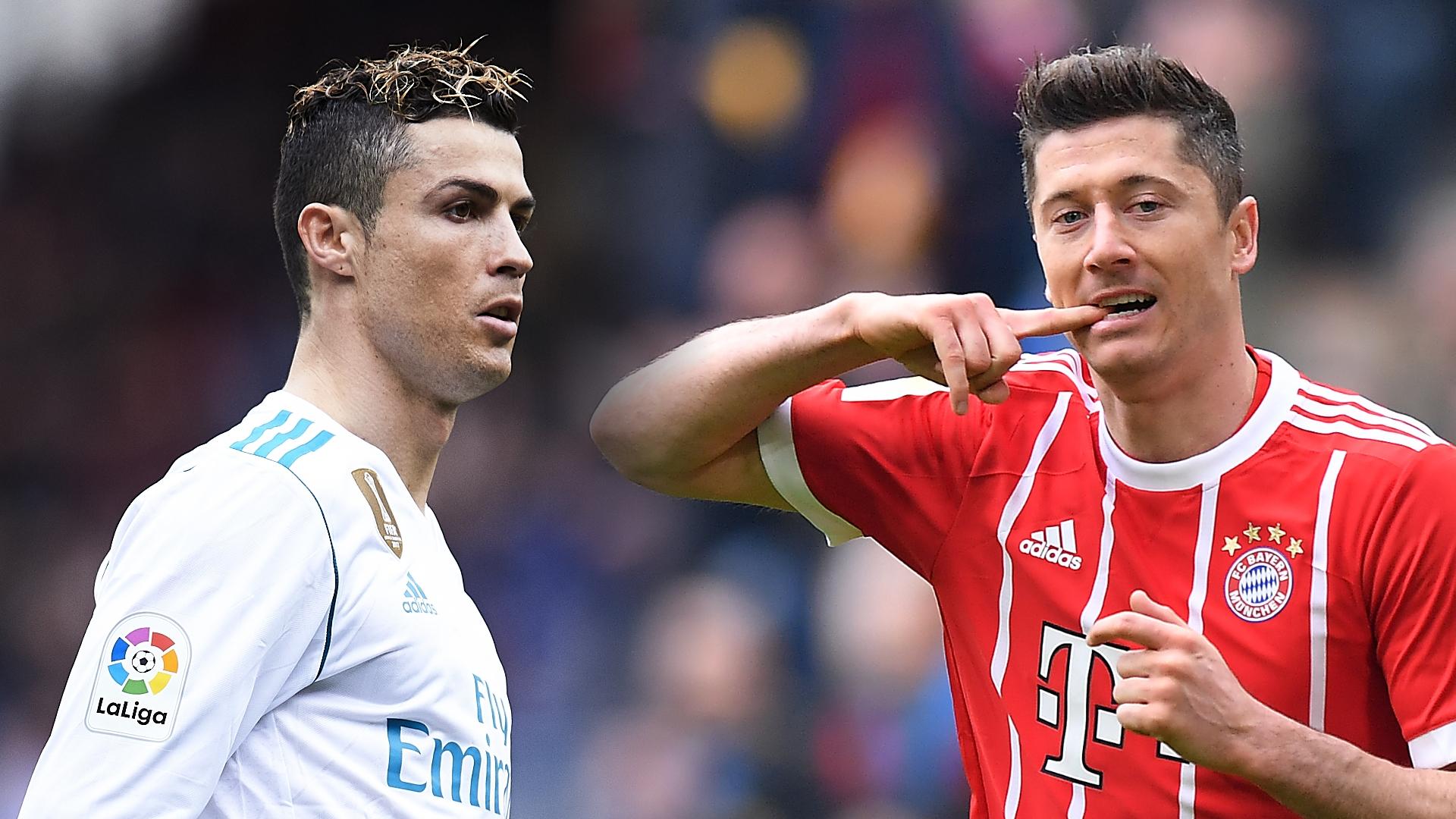 Cristiano Ronaldo thể hiện đẳng cấp của mình khi công nhận tài năng của Robert Lewandowski