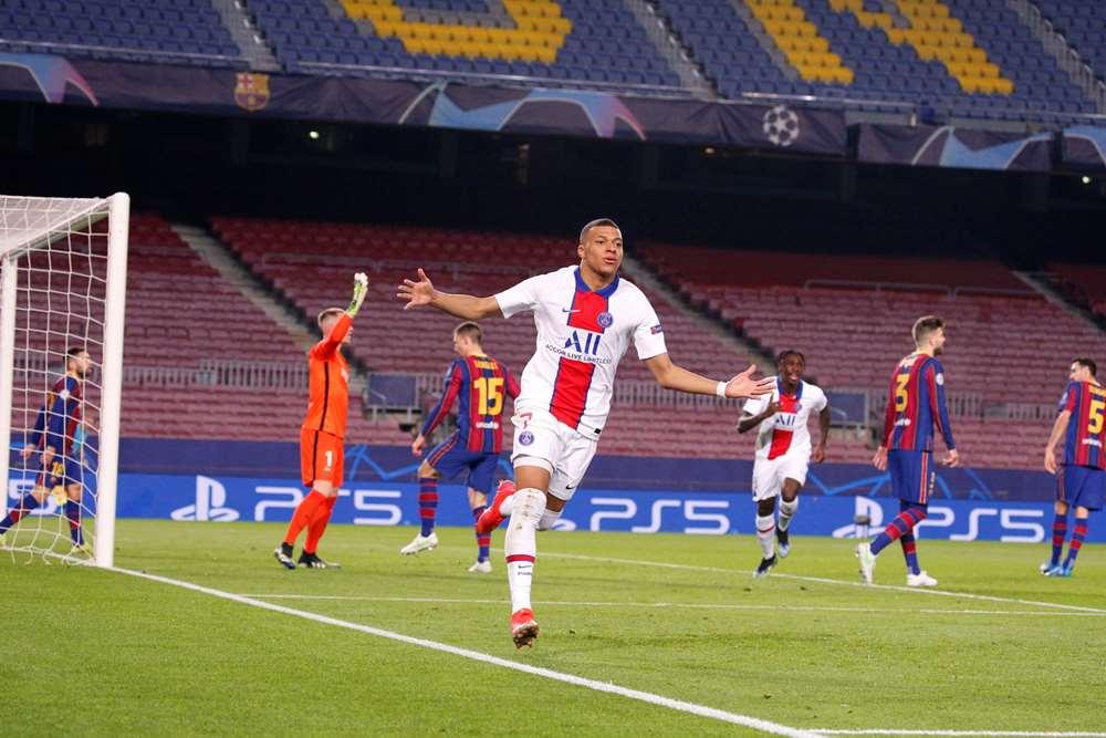 Mbappe lập hat-trick tại Champions League