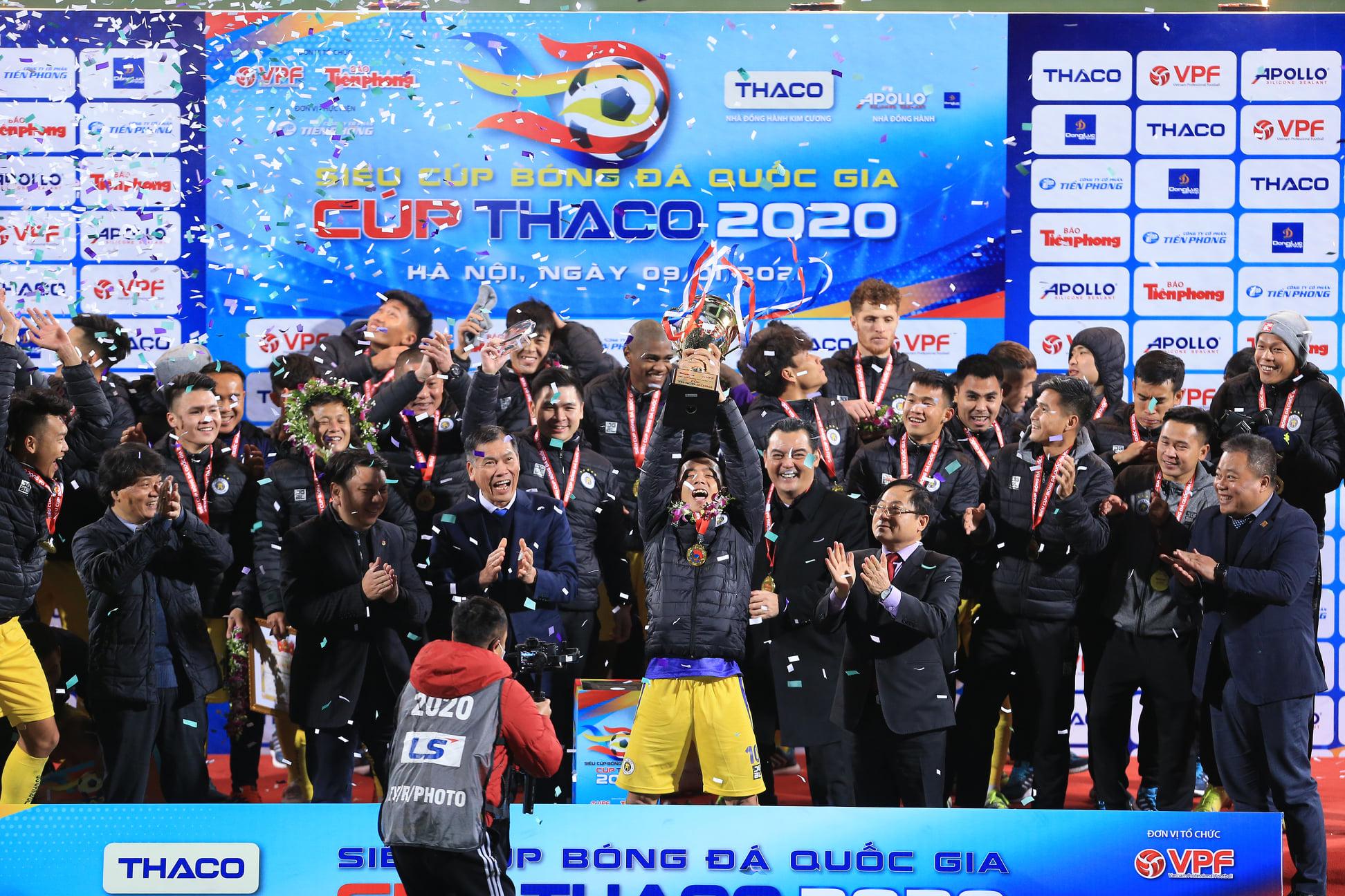 Hà Nội vô địch Siêu Cúp Quốc gia năm 2020