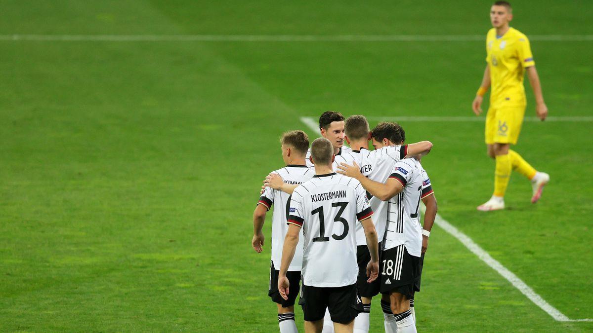Ukraine bại trận trước Đức ở UEFA Nations League