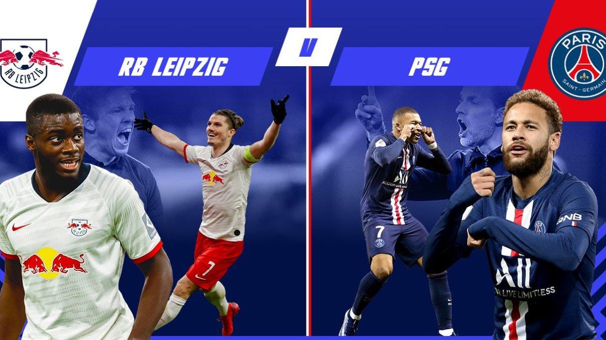 PSG phải hạ gục RB Leipzig