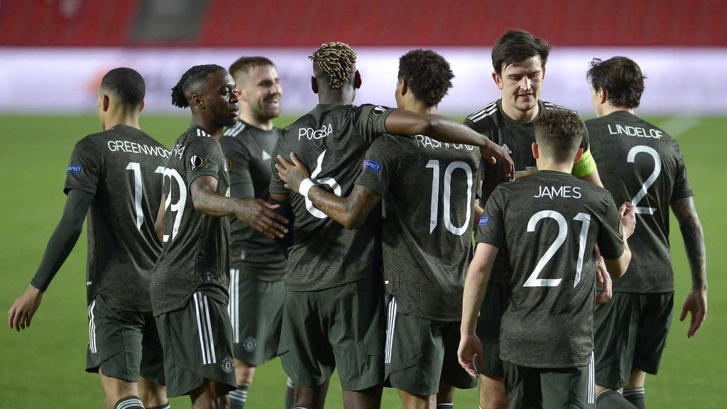 Man Utd đánh bại Granada, Arsenal bị Praha cầm hòa tại vòng tứ kết Europa
