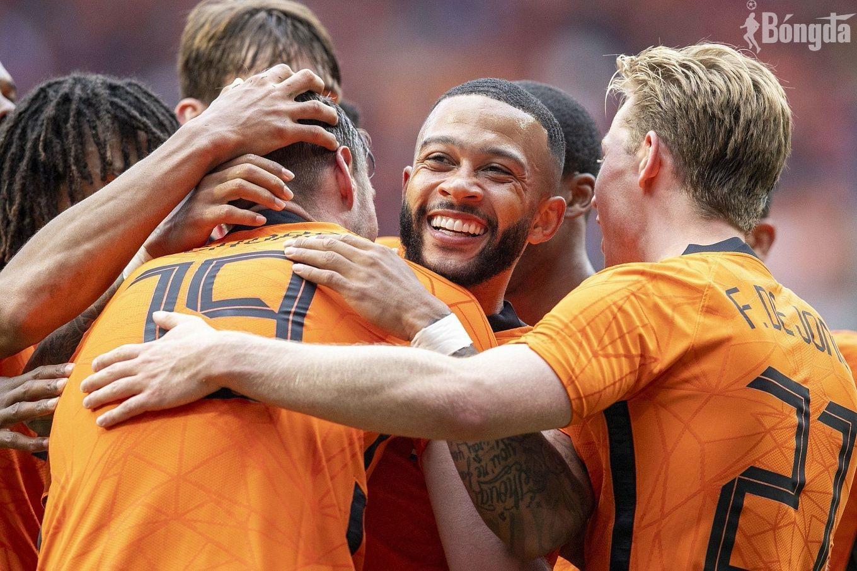 Hà Lan vs Áo: Memphis Depay và Denzel Dumfries nhấn chìm tuyển Áo