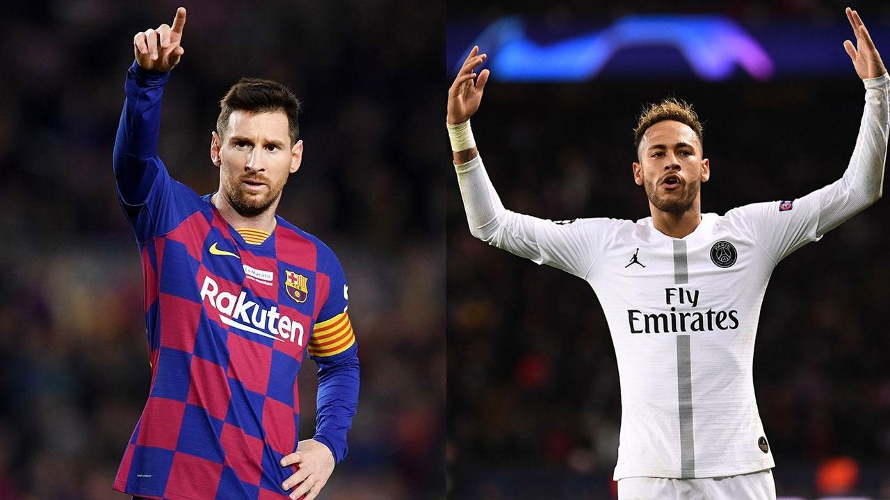 Neymar thua xa Messi về độ nổi tiếng trên mạng xã hội