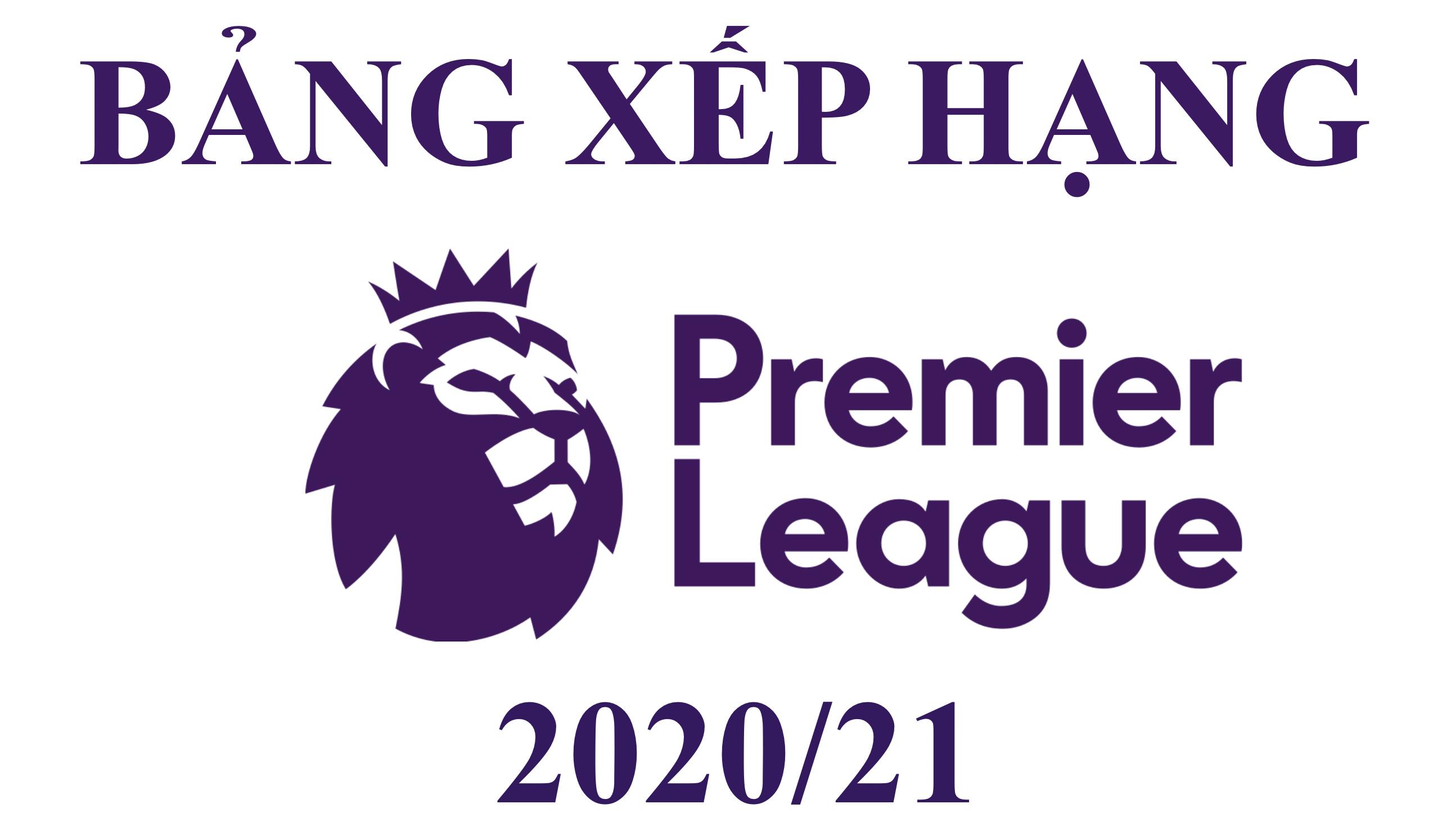 Bảng Xếp Hạng Premier League 2020/21 Sau Vòng 34