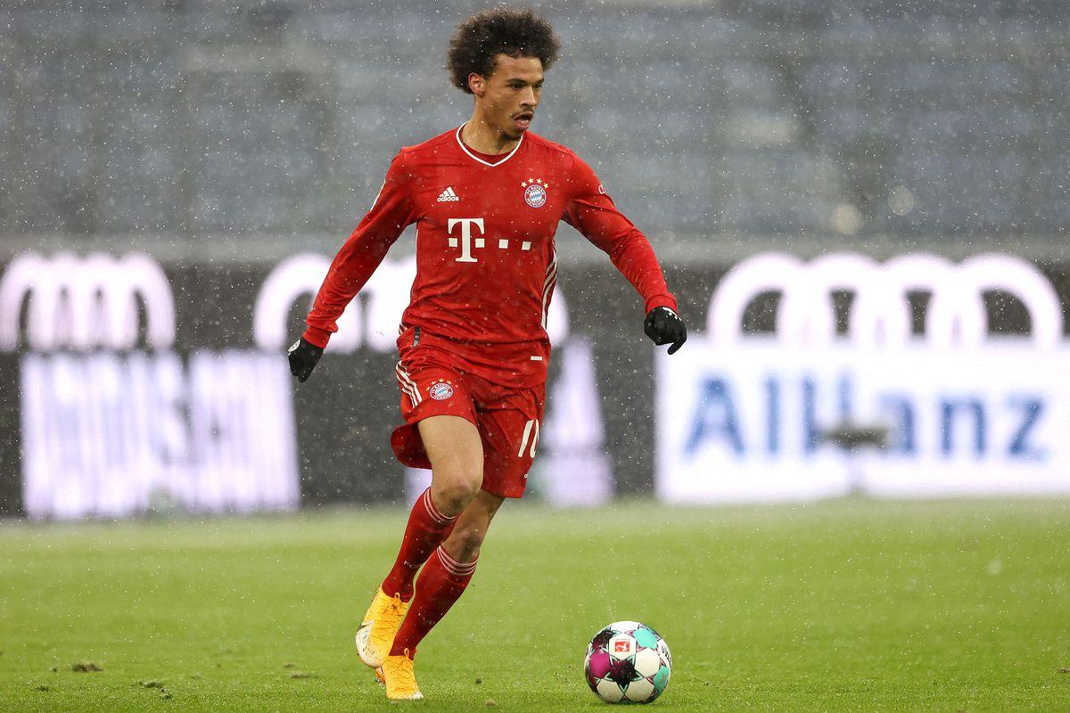 Hansi Flick của Bayern Munich phân tích các bước luân chuyển đội hình và màn trình diễn của Leroy Sane