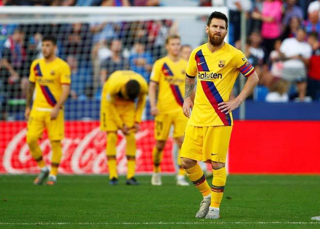 Thua Atletico, Barcelona bước vào trạng thái sốc
