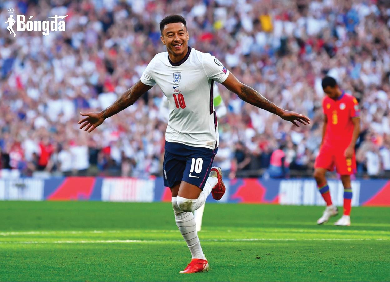 Phong độ tốt tại Man Utd, Jesse Lingard muốn dự World Cup 2022 cùng tuyển Anh
