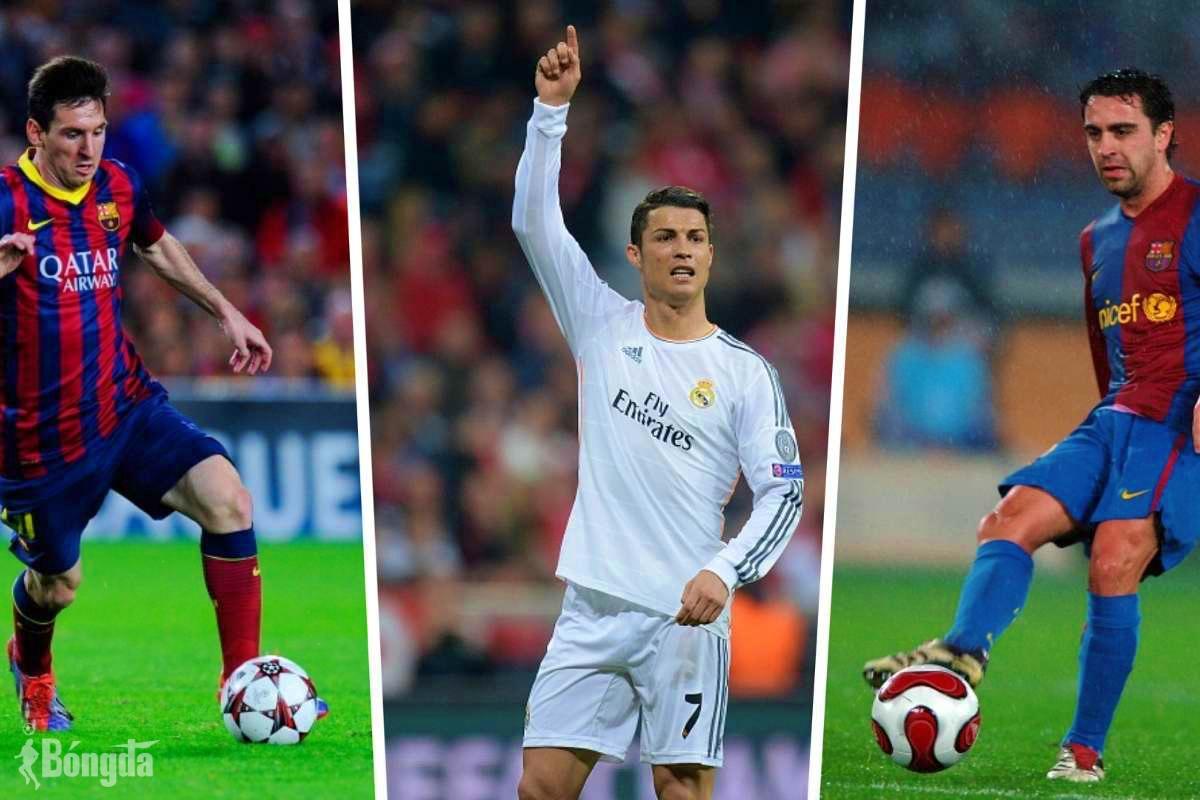 Chia tay Barca trong nước mắt, Messi vẫn vượt Ronaldo, Xavi lập kỷ lục La Liga