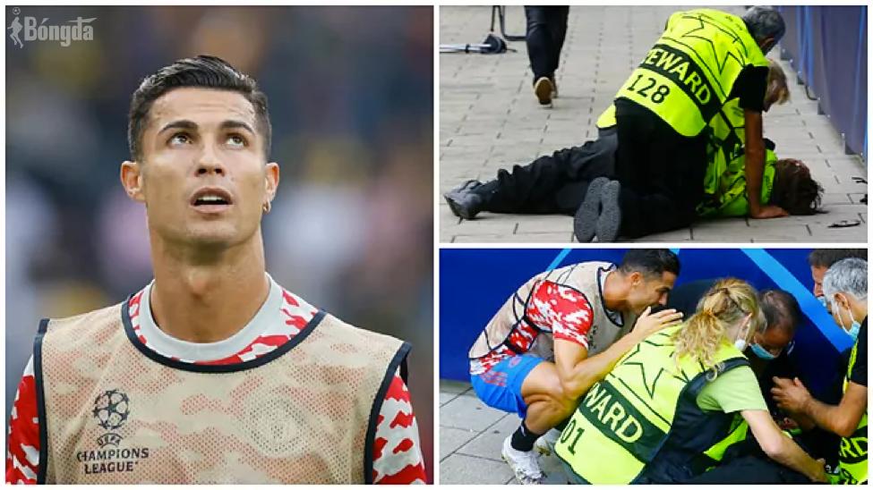 Ronaldo thể hiện cử chỉ đẹp trước trận MU thua Young Boys