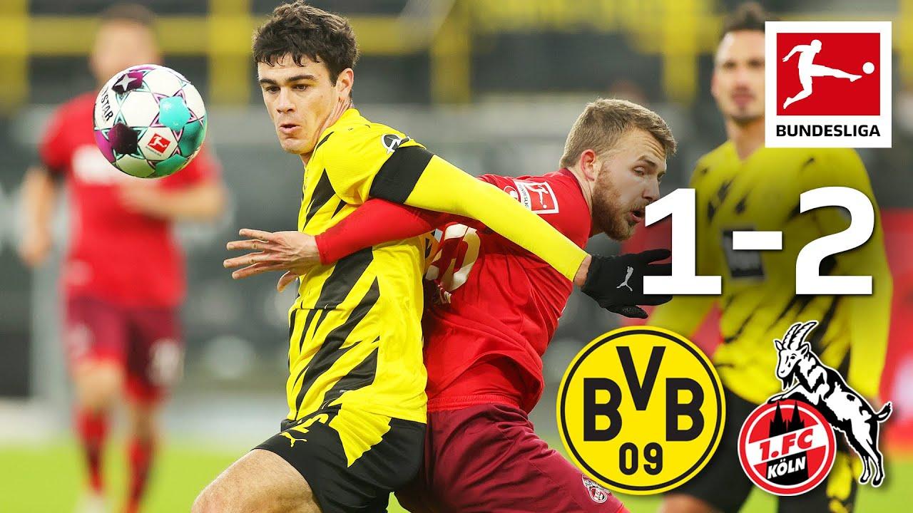 Borussia Dortmund bất ngờ thất bại 1-2 trước FC Köln