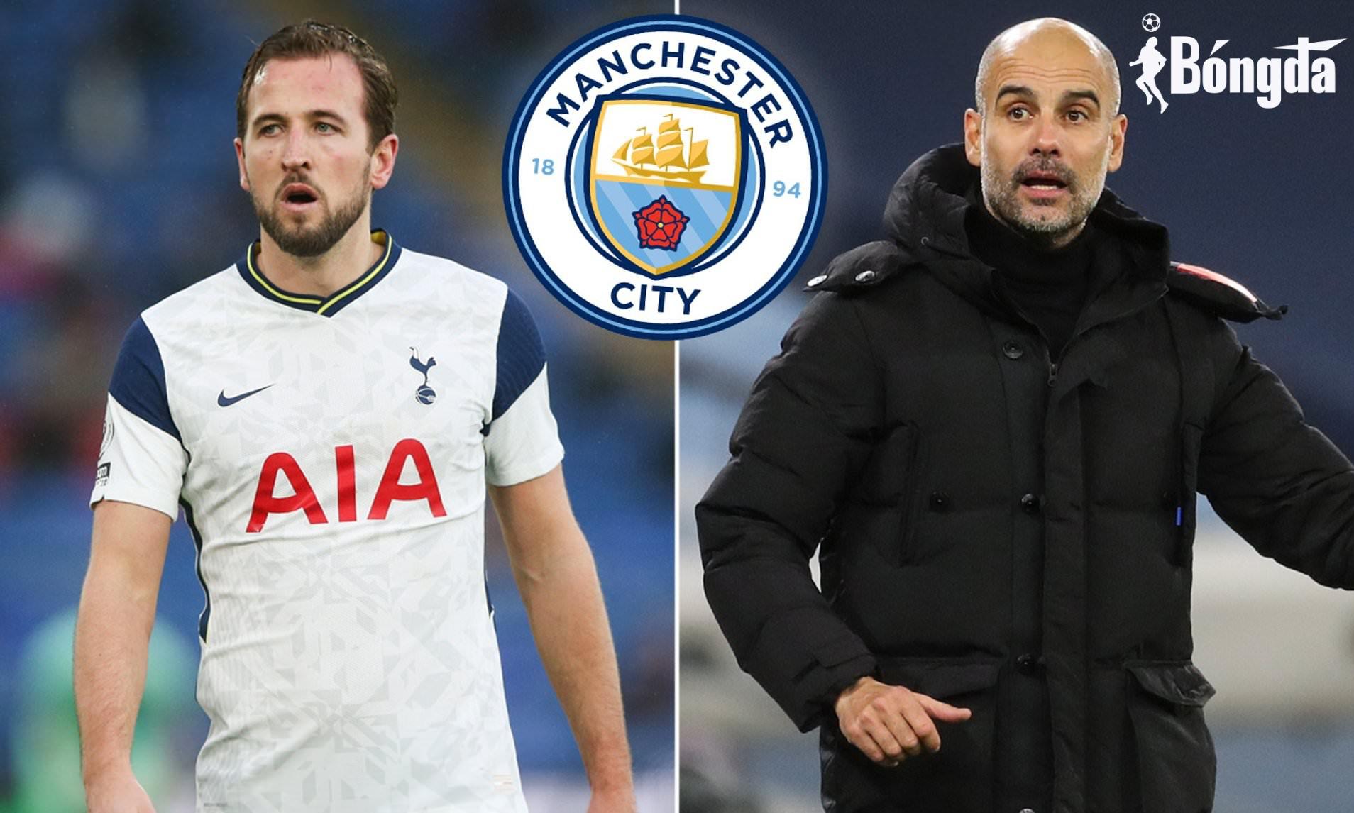 Harry Kane cam kết tương lai với Tottenham bất chấp sự theo đuổi của Man City