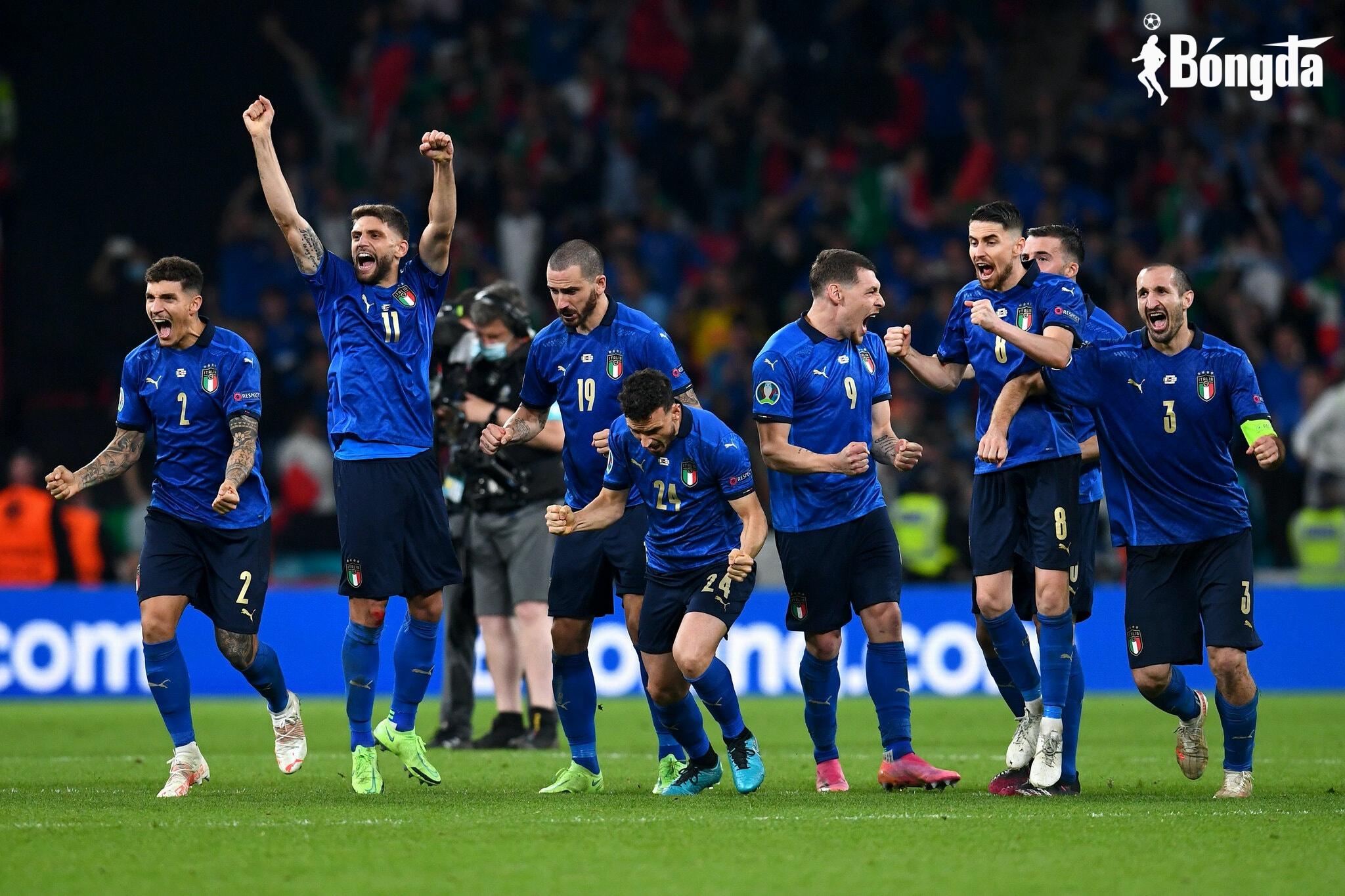 Đánh bại Tam Sư trên chấm luân lưu, Italia lên ngôi vô địch