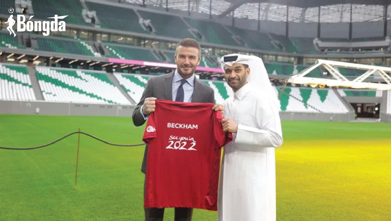 Beckham bỏ túi 150 triệu bảng khi làm đại sứ World Cup 2022 tại Qatar
