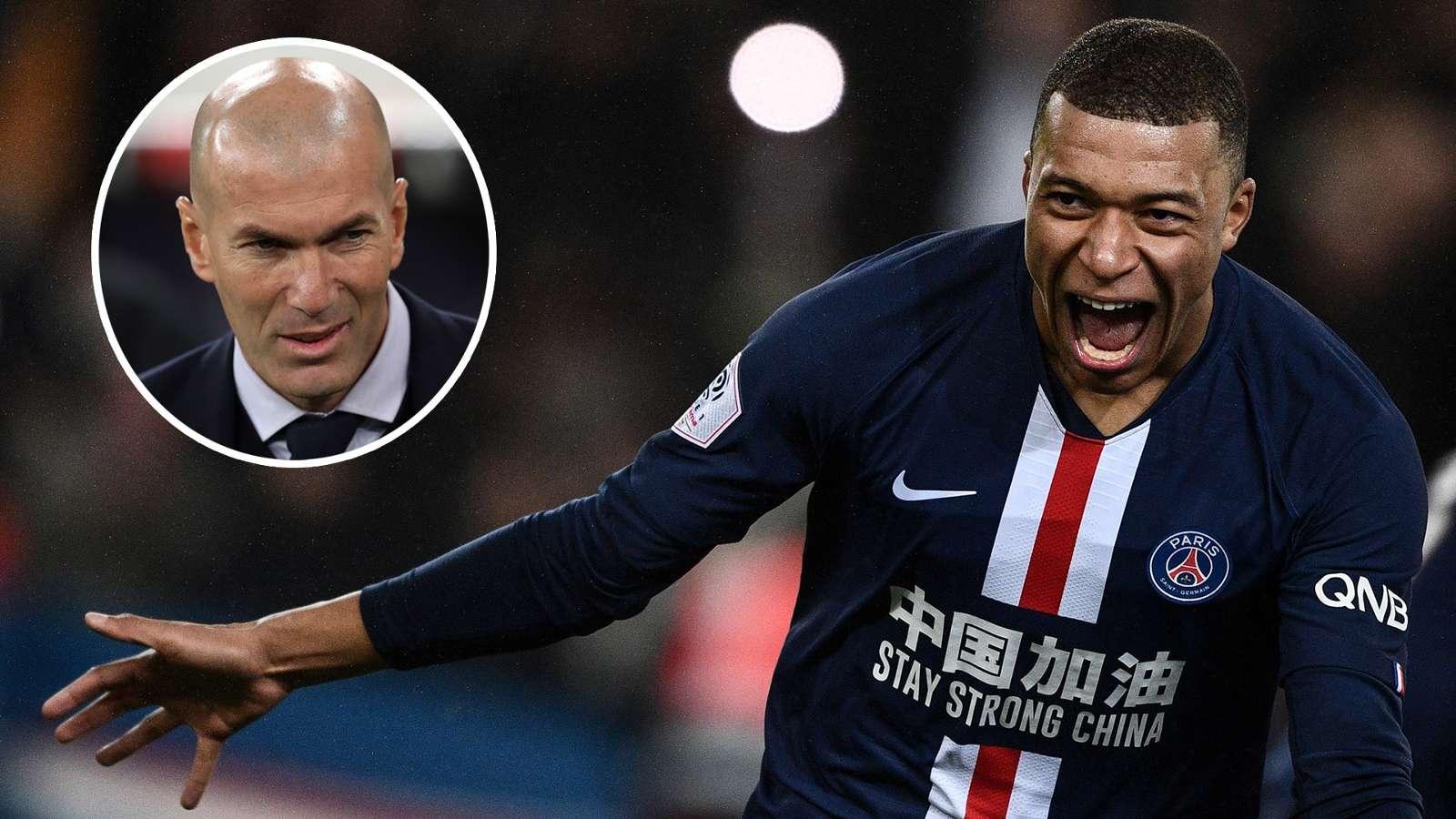 """Mbappe """"gia nhập"""" Real và HLV Zidane """"nhận việc"""" ở Pháp"""
