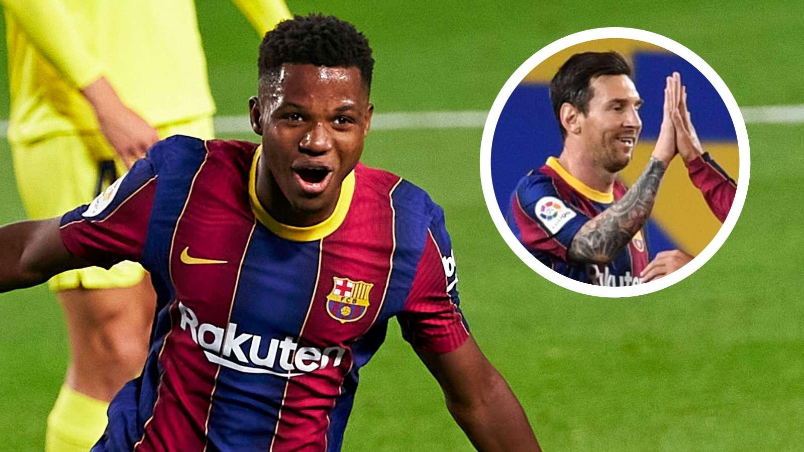 """Ansu Fati - người """"kế vị"""" Messi trong tầm ngắm của Samuel Eto'o"""