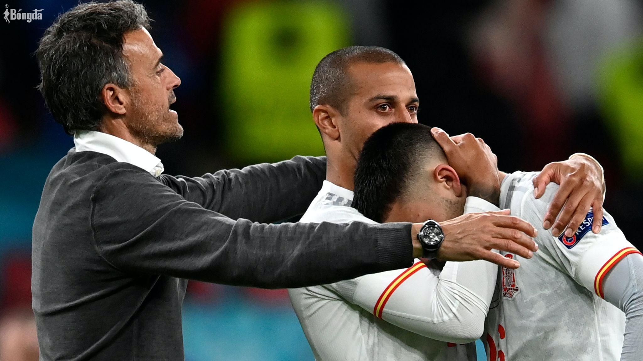 """HLV Luis Enrique không hề thất vọng mà còn rất tự hào: """"Chúng tôi đã có kỳ EURO tuyệt vời"""""""