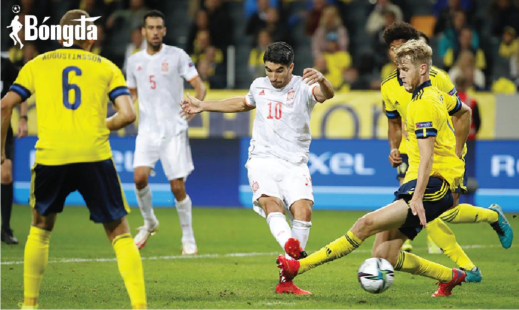 Thắng 2-1, Thuỵ Điển chấm dứt chuỗi bất bại 28 năm của Tây Ban Nha