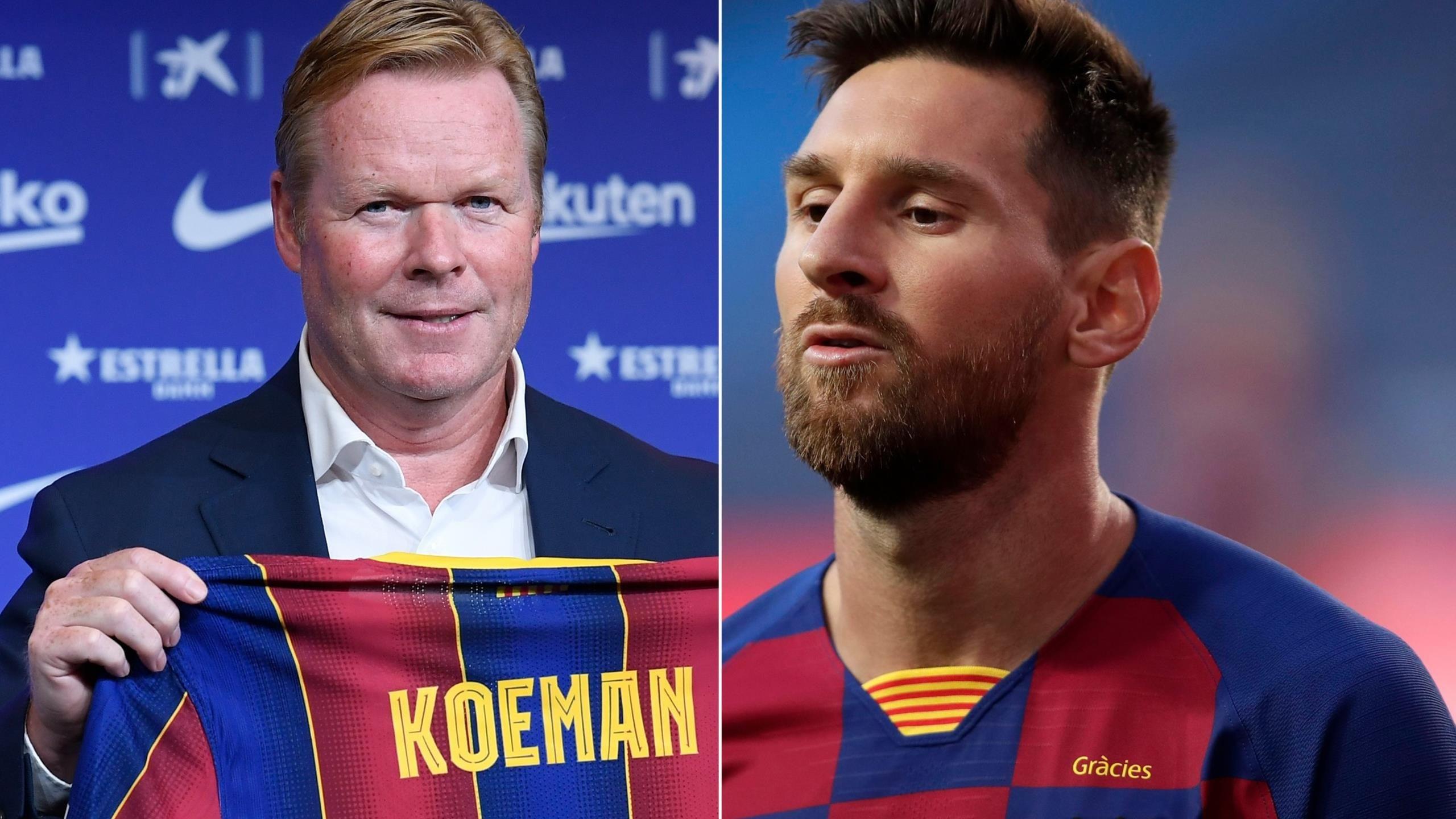 Vai trò mới của Messi tại Barca dưới thời tân HLV Koeman