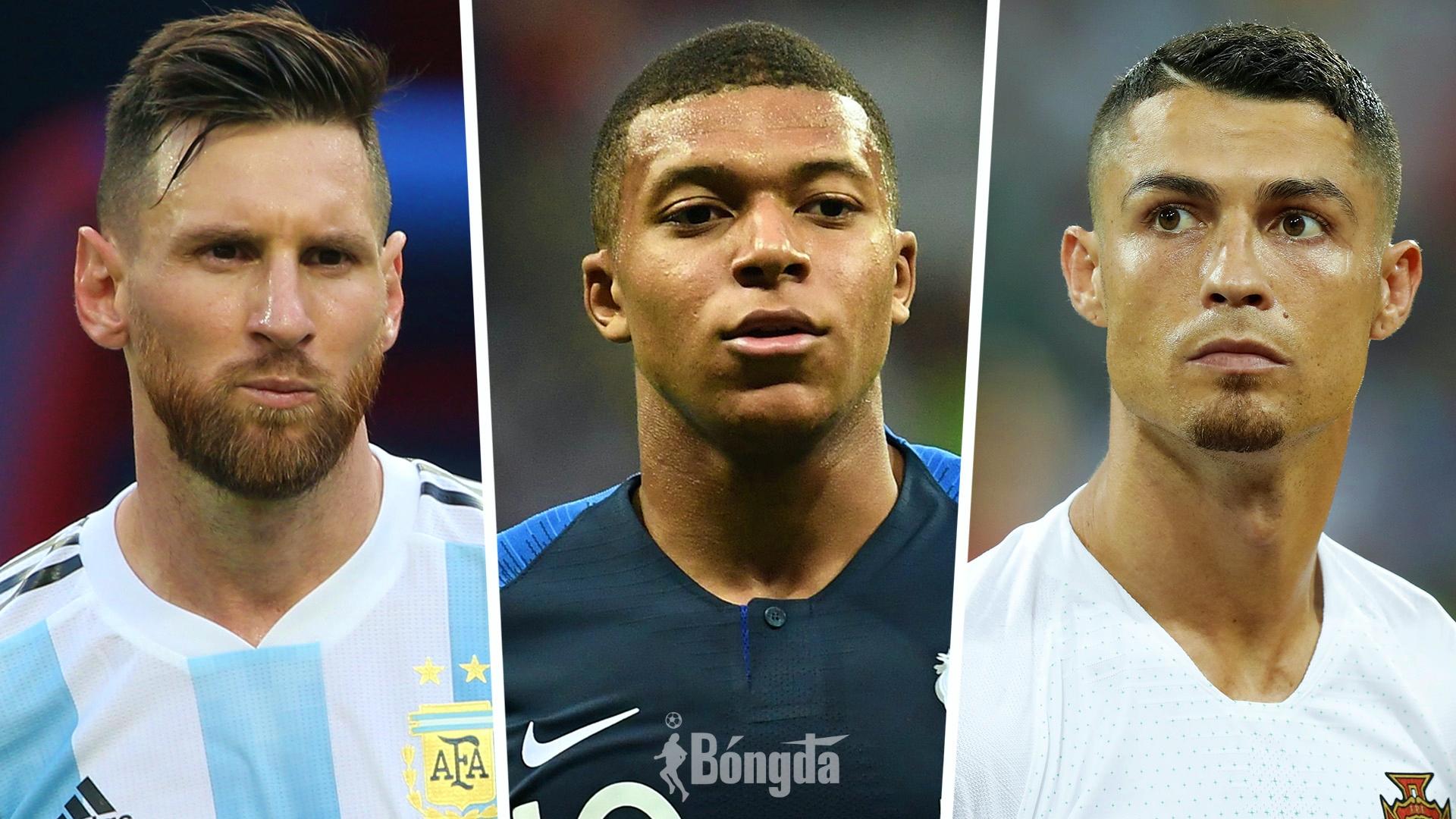 Tự so sánh với Messi và Ronaldo, Mbappe thừa nhận chưa đủ trình