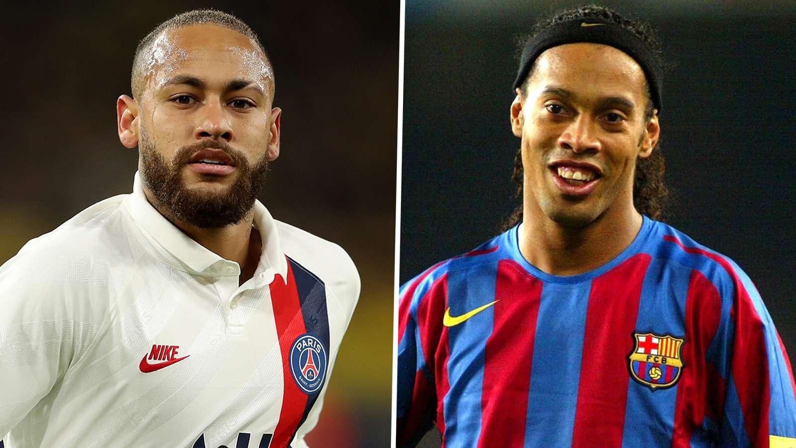 Huyền thoại Barca so sánh Neymar cùng đẳng cấp với Ronaldinho